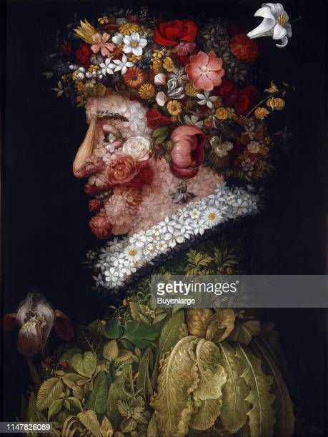 Giuseppe Arcimboldo was an Italian painter best known for creating imaginative portrait heads made entirely of objects such as fruits vegetables...