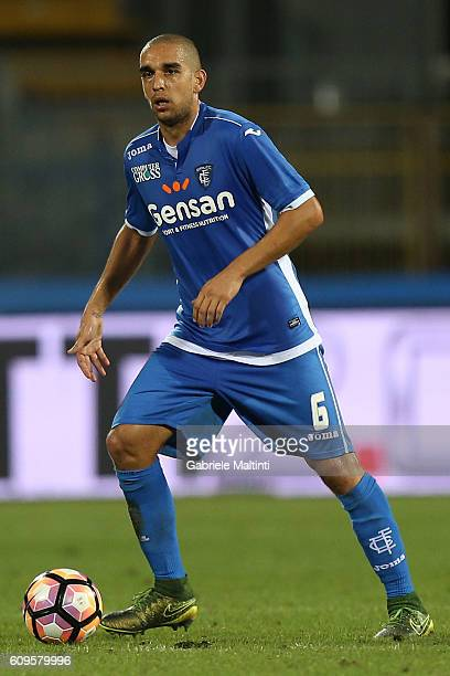 Giuseppe Bellusci of Empoli FC in action during the Serie A match between Empoli FC and FC Internazionale at Stadio Carlo Castellani on September 21...