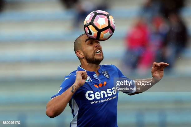 Giuseppe Bellusci of Empoli FC in action during the Serie A match between Empoli FC and Bologna FC at Stadio Carlo Castellani on May 7 2017 in Empoli...