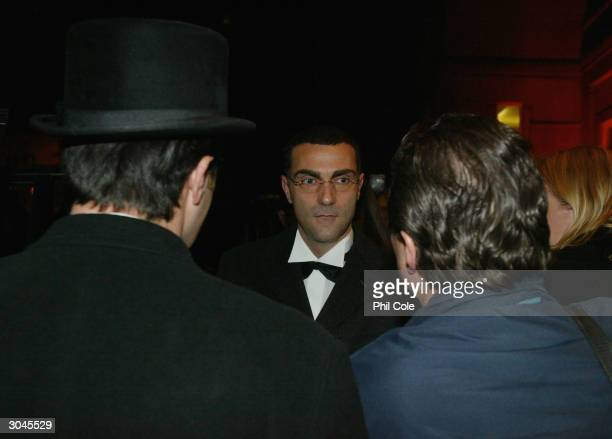 Giuseppe Bergomi at the Berkeley Hotel for the 'FIFA 100 awards' at the Natural History Museum on March 4 2004 in London