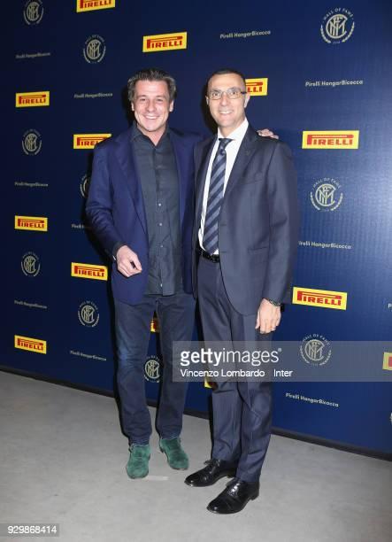 Giuseppe Bergomi attend the 110th FC Internazionale Anniversary Ceremony Award at Hangar Pirelli on March 9 2018 in Milan Italy