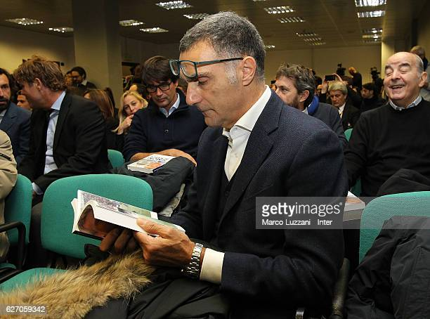 Giuseppe Bergomi during a press conference to present his biography 'Simoni si nasce Tre vite per il calcio' prior to the Serie A match between FC...