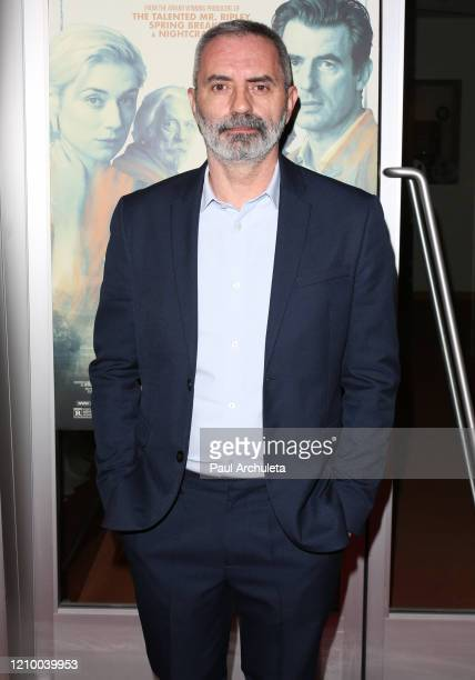 """Giuseppe Capotondi attends the LA special screening of Sony's """"The Burnt Orange Heresy"""" at Linwood Dunn Theater on March 02, 2020 in Los Angeles,..."""