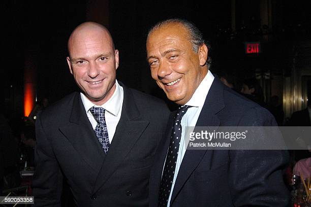 Giuseppe Cipriani and Fawaz Gruosi attend de Grisogono Sponsors The 2005 Wall Street Concert Series Benefiting Wall Street Rising with a Performance...