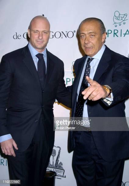 Giuseppe Cipriani and Fawaz Gruosi President of de Grisogono