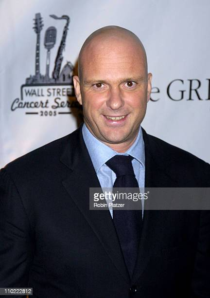Giuseppe Cipriani during The 2005 Wall Street Concert Series Benefiting Wall Street Rising Starring Rod Stewart at Ciprianis Wall Street in New York...