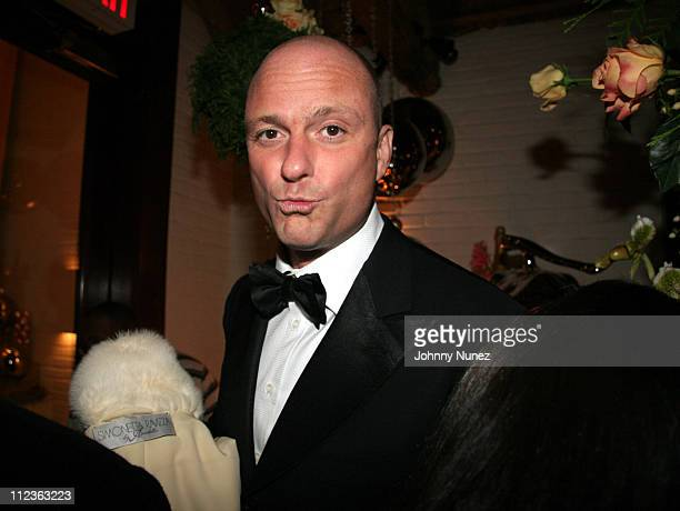 Giuseppe Cipriani host during Naomi Campbell and Giuseppe Cipriani Holiday Party December 5 2005 in New York New York United States