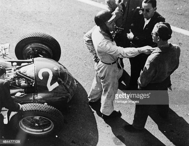 Giuseppe Farina and Alfa Romeo 159 French Grand Prix Rheims 1951 A qualified doctor of engineering Farina won the first official Formula 1 World...