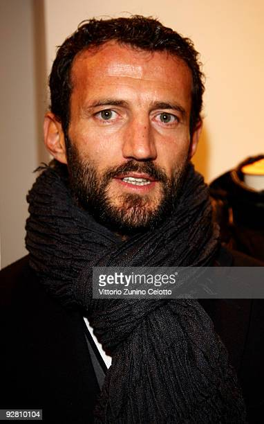 Giuseppe Favalli attends the Grand Stadium Jacket cocktail party at the Fay Boutique on November 5, 2009 in Milan, Italy.
