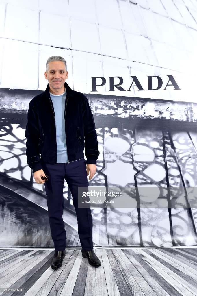 Prada Hosts A Cocktail Reception To Present The Resort 2018 Collection In Its Rome Stores