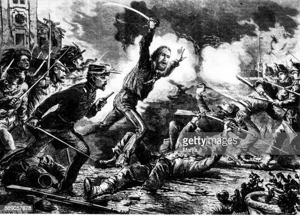 Giuseppe Garibaldi To The Defense of Rome June 1849