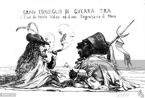 Giuseppe Garibaldi With Emanuele Berio Said Il Moro