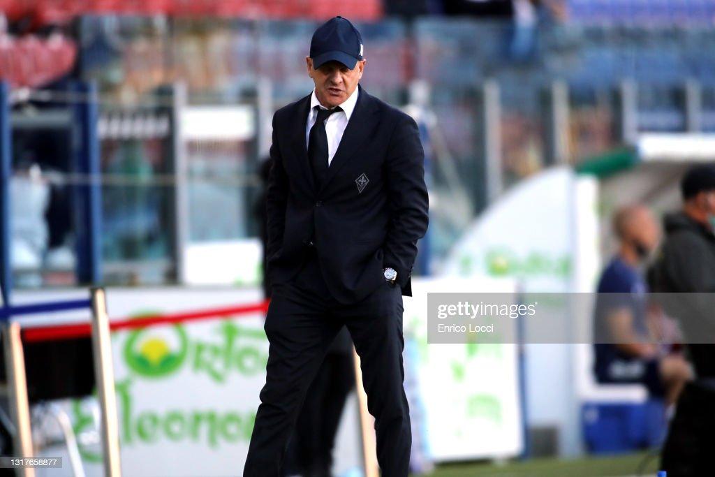 Cagliari Calcio  v ACF Fiorentina - Serie A : ニュース写真