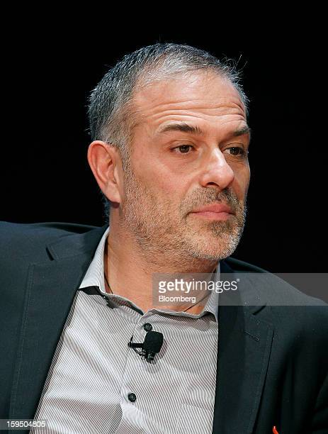 Giuseppe Lignano cofounder of LOTEK speaks during the Bloomberg Businessweek Design 2013 conference in San Francisco California US on Monday Jan 14...