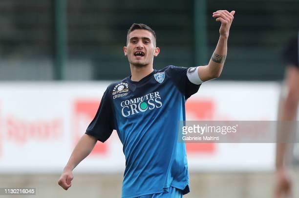 Giuseppe Montaperto of Empoli U19 in action during the Viareggio Cup 2019 match between Empoli FC U19 and Ascoli Picchio U19 on March 13 2019 in La...
