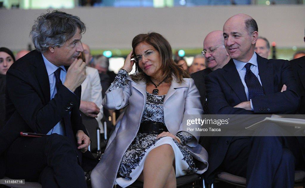 'Cambia Italia. Riforme Per Crescere' - Confindustria Meeting - Day 1 : Nieuwsfoto's