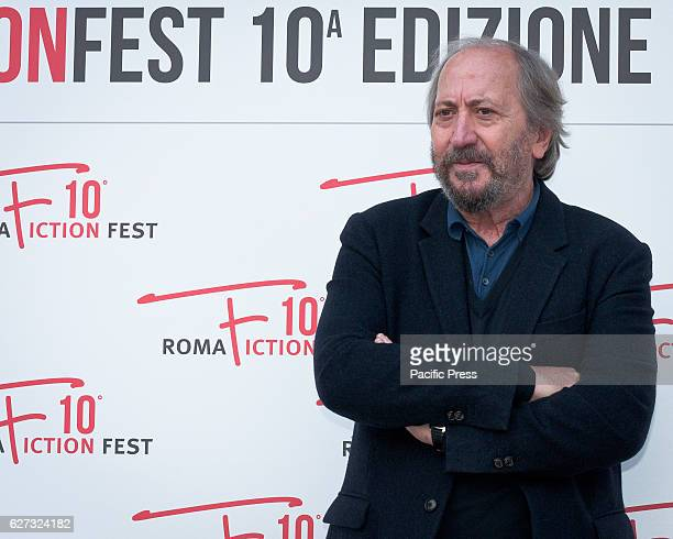 Giuseppe Piccioni during the photocall of the press conference to present the tenth edition of Roma Fiction Fest