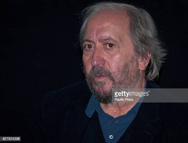 Giuseppe Piccioni during the press conference to present the tenth edition of Roma Fiction Fest