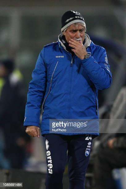 Giuseppe Pillon of Pescara Calcio 1936 during the Italian Serie B 2018/2019 match between Pescara Calcio 1936 FC and US Cremonese at Stadio Adriatico...