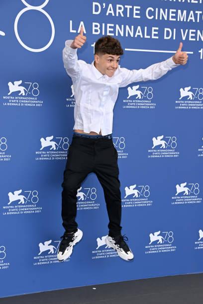 """ITA: """"Il Bambino Nascosto"""" Photocall - The 78th Venice International Film Festival"""
