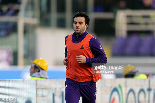 Giuseppe Rossi of ACF Fiorentina during the Serie A match between ACF Fiorentina and AC Chievo Verona at Stadio Artemio Franchi on December 20 2015...
