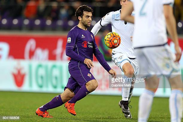 Giuseppe Rossi of ACF Fiorentina in action during the Serie A match between ACF Fiorentina and SS Lazio at Stadio Artemio Franchi on January 9 2016...