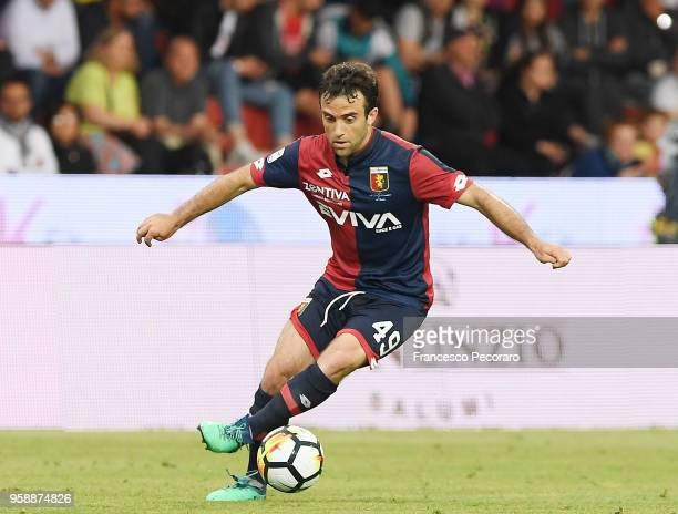 Giuseppe Rossi of Genoa CFC in action during the serie A match between Benevento Calcio and Genoa CFC at Stadio Ciro Vigorito on May 12 2018 in...