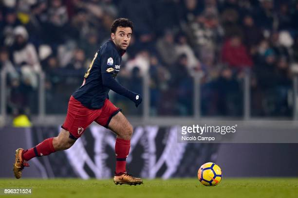 Giuseppe Rossi of Genoa CFC in action during the TIM Cup football match between Juventus FC and Genoa CFC Juventus FC won 20 over Genoa CFC