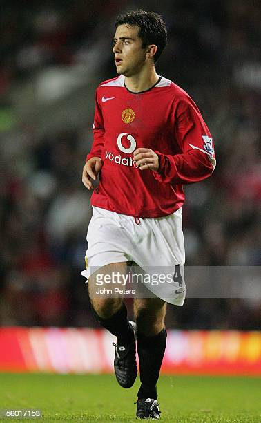 Giuseppe Rossi of Manchester United in action during the Carling Cup third round match between Manchester United and Barnet at Old Trafford on...