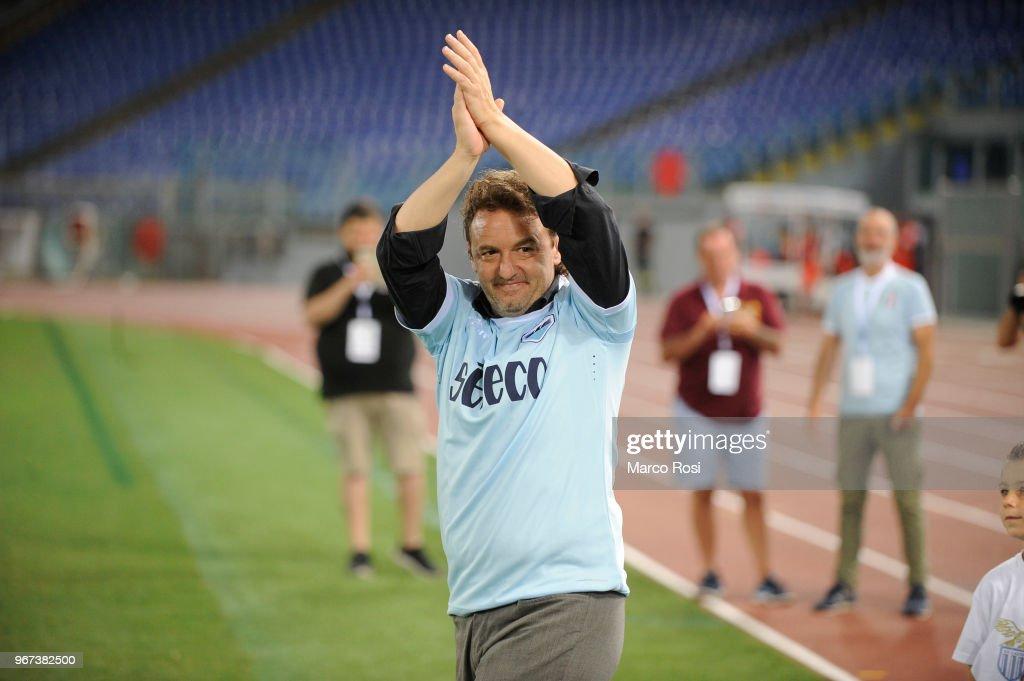 Di Padre In Figlio - SS Lazio Legends vs West Ham Legends : News Photo