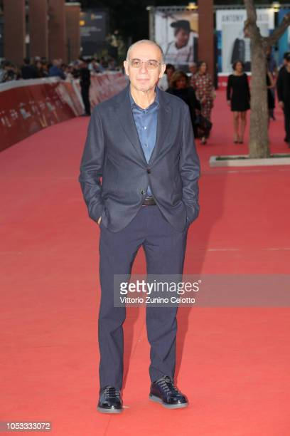 Giuseppe Tornatore walks a red carpet during the 13th Rome Film Fest at Auditorium Parco Della Musica on October 25 2018 in Rome Italy