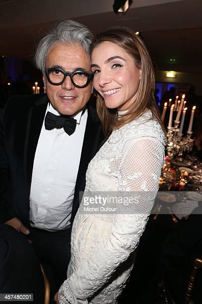 Giuseppe Zanotti and Clotilde Coureau attend the Annual Charity Dinner Hosted By The AEM Association Children Of The World For Rwanda on December 17,...