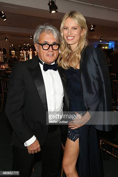 Giuseppe Zanotti and Karolina Kurkova attend the Annual Charity Dinner Hosted By The AEM Association Children Of The World For Rwanda At Espace...