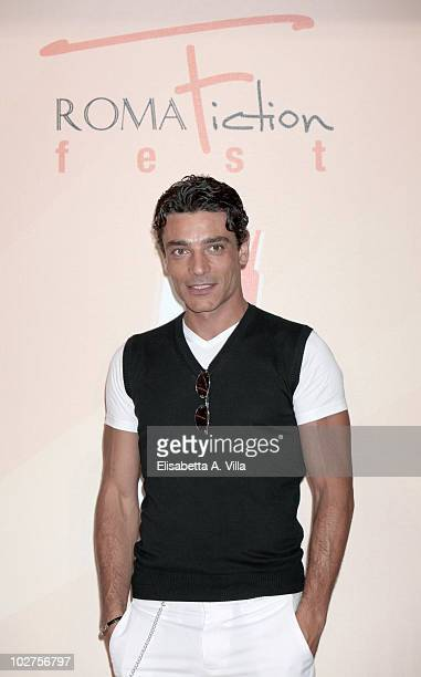 Giuseppe Zeno attends a photocall for Gli Ultimi Del Paradiso during the Roma Fiction Fest at Adriano Cinema on July 9 2010 in Rome Italy