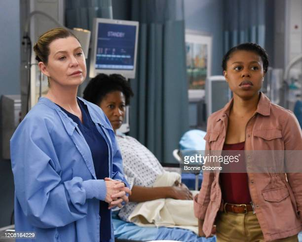 """Give a Little Bit"""" - Meredith heads up a pro bono surgery day, but the overwhelming patient response causes her to struggle to keep things in order...."""