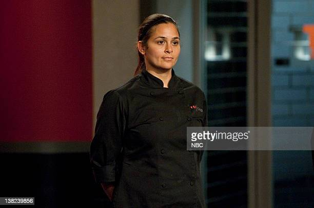 """Give Me Your Huddled Masses"""" Episode 812 -- Pictured: Contestant Antonia Lofaso"""