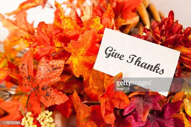 Give Thanks Thanksgiving still life