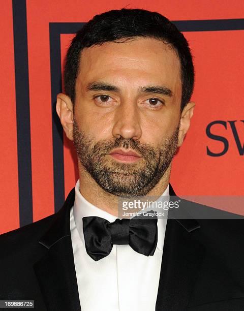 Givenchy fashion designer Riccardo Tisci winner International Award backstage during the 2013 CFDA FASHION AWARDS Underwritten By Swarovski at...