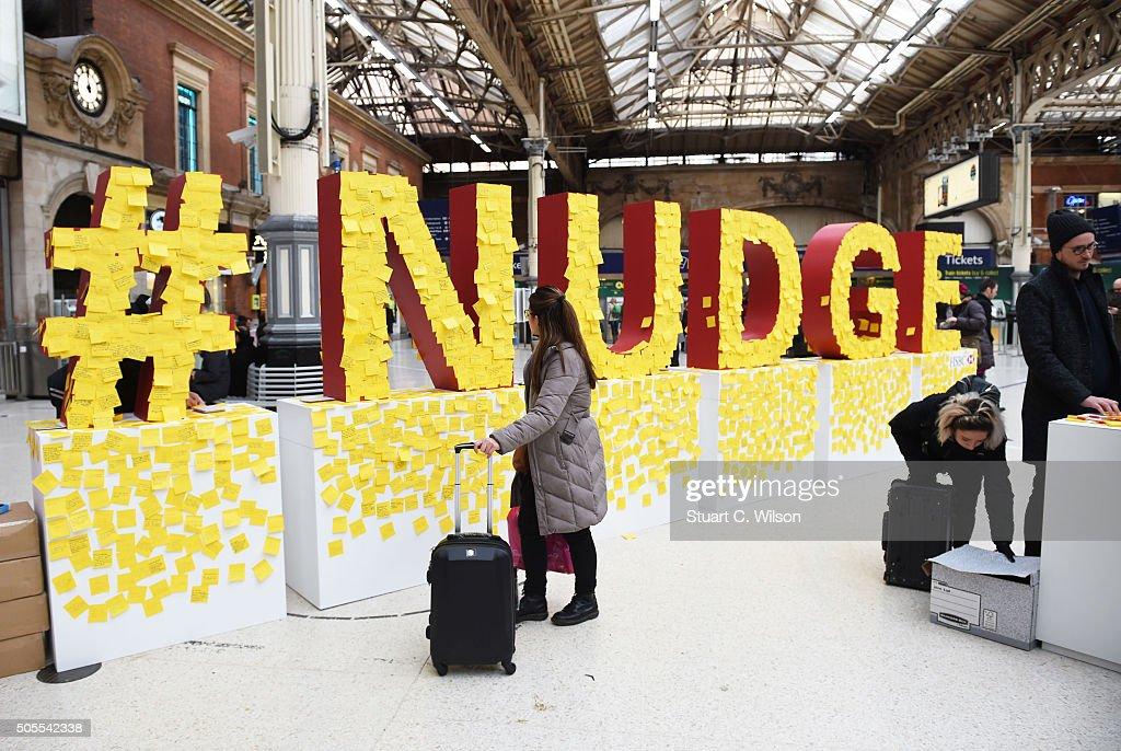 HSBC's Giant Nudge For London : News Photo