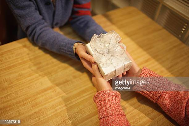 Giving a present