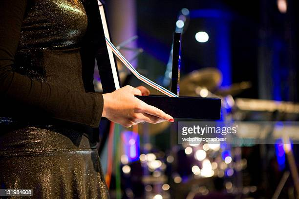 giving award - awards ceremony stock pictures, royalty-free photos & images