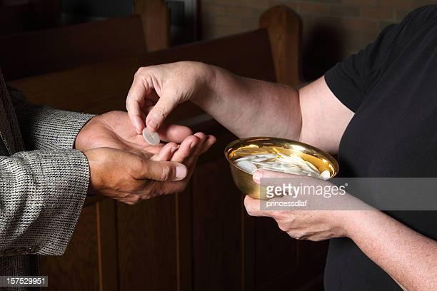 Giving Communion