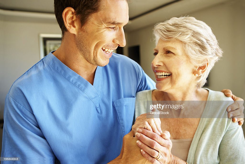 Giving her the motivation she needs! : Stock Photo