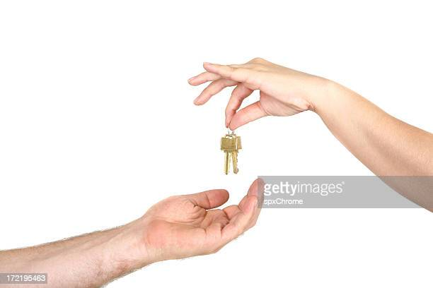 Giving House Keys
