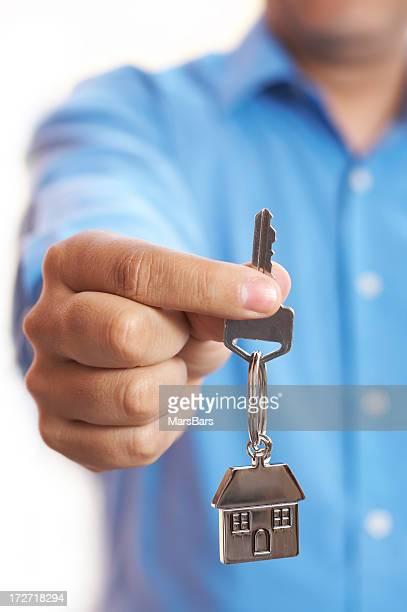 Haus Schlüssel geben