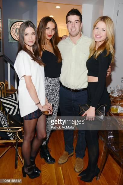 Giza Lagarce Charlotte CarterAllen Billy McFarland and Annmarie Nitti attend ONE1 Hosts Dinner to Celebrate the Opening of the Magnises Townhouse at...