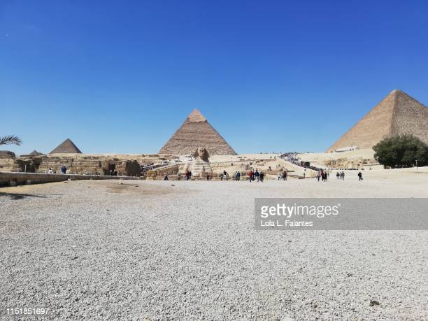 Giza Piramids and sphinx