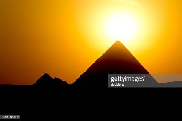Gizeh sunset