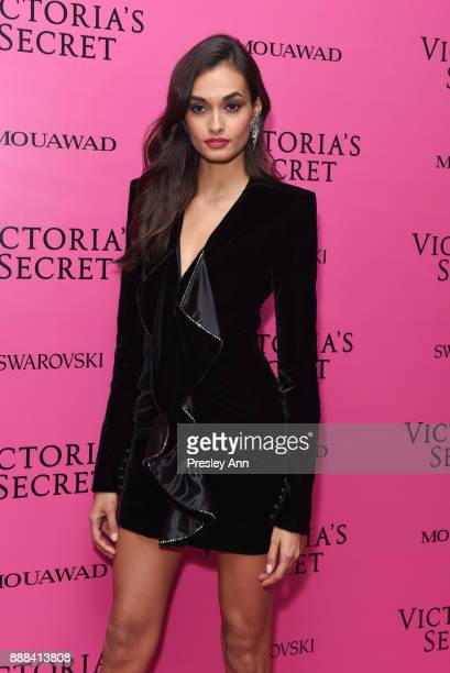 Gizele Oliveira attends 2017 Victoria's Secret Fashion Show In Shanghai After Party at MercedesBenz Arena on November 20 2017 in Shanghai China