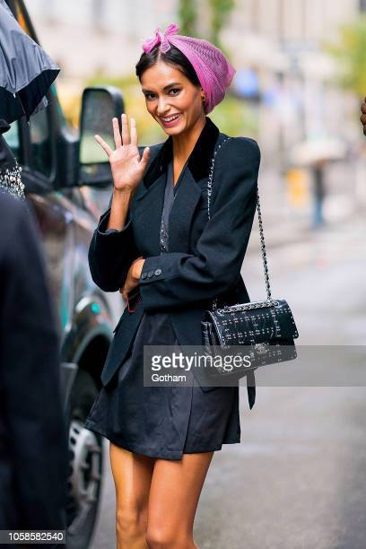 Gizele Oliveira attends fittings for the 2018 Victoria's Secret Fashion Show in Midtown on November 6 2018 in New York City